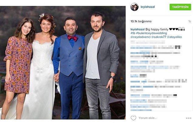 Bilenler bilir; Hazal Kaya ve Ali Atay çifti, Ceyda Düvenci ve Bülent Şakrak çifti ile çok yakın arkadaşlar.