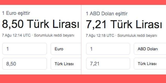 Euro ve Dolar'ın yükselmesiyle birlikte Türkiye ekonomisi de havlayan köpekler binilen atlar şeklinde tartışılıyor. Her zamanki gibi bilimsel verilerle karşımıza çıkan bir muhatap bulamıyoruz. Piyasalardaki her aşırı oynaklık durumunda da biz vatandaşlarda sinirler bi' geriliyor.