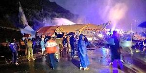 Hindistan'da 191 Kişiyi Taşıyan Uçak İkiye Ayrıldı: 15 Ölü