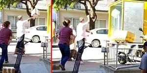 Kargoları Basket Atar Gibi Kamyona Yükleyen PTT Çalışanının Tepki Çeken Görüntüleri
