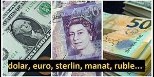 Ekonomi Boyut Değiştirirken Türk Lirası'nın Alternatif Değerlerini Görebileceğiniz 18 Farklı Para Birimi