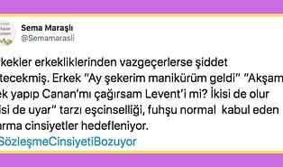 İstanbul Sözleşmesi'nin Erkekler İçin Bir Kölelik Kanunu Olduğunu Söyleyen Sema Maraşlı'nın Beyninizi Yakacak Tweet'leri