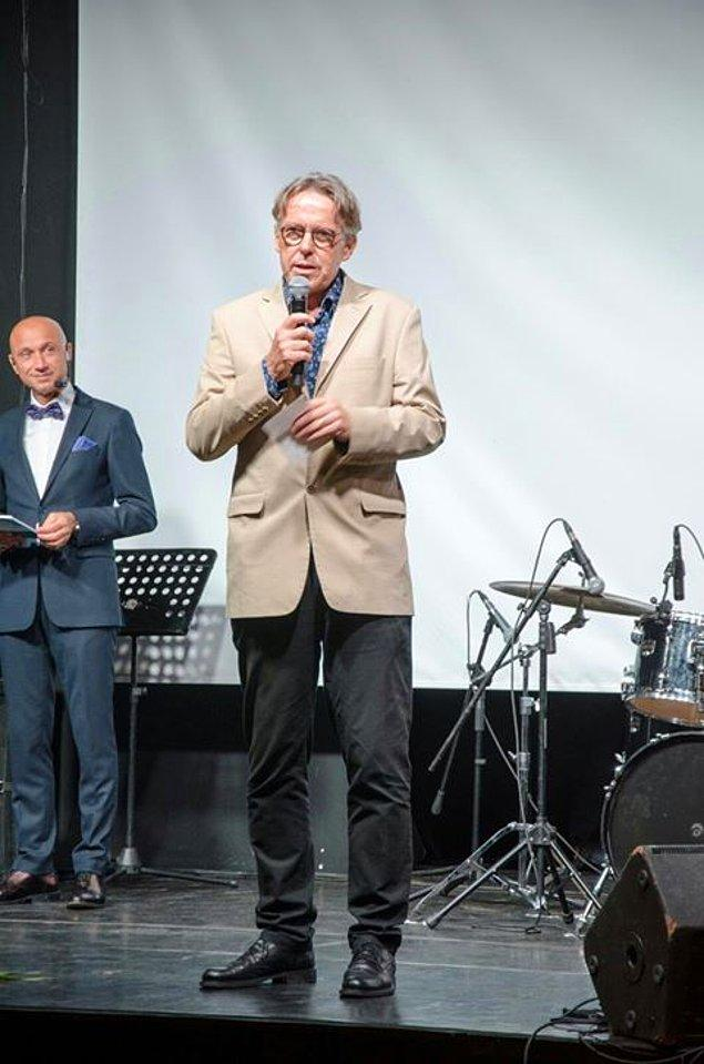 Yarışmada jüri başkanlığı yapan isimlerden biri de, dünyaca ünlü yönetmen ve aynı zamanda Bilkent Üniversitesi Sinema Bölüm başkanı Andreas Treske.