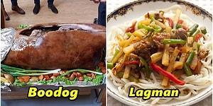 Orta Asya Mutfağının Kendine Has Tarifleri ile Yapılmış Birbirinden Lezzetli Yemekleri