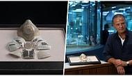 Zenginin Parası Yine Çenemizi Yordu! Mücevher Firması Yvel, Çinli Bir İş İnsanı İçin 1,5 Milyon Dolara Maske Tasarladı!