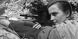 2. Dünya Savaşı'nda 309 Naziyi Öldüren Ünlü Sovyet Keskin Nişancısı: Lyudmila Pavlichenko
