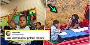 Pandemi Nedeniyle Okulları Kapatılınca Her Gün Otizmli Öğrencileri İçin 2 Saat Yol Gidip Ders Veren Öğretmen
