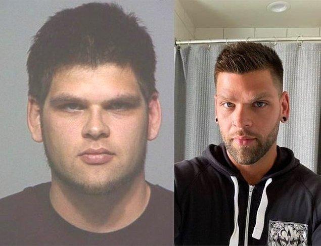 """18. """"Soldaki fotoğrafım 2011 yılında hapse girmeden önce çekilen fotoğrafım. Sağdaki ise 8 yıl sonraki mutlu halim."""""""