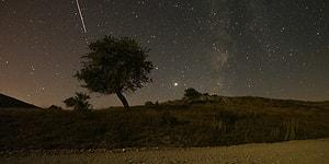 Muhteşem Kareler Ortaya Çıktı: Perseid Meteor Yağmuru Türkiye'den İzlendi 💫