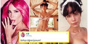 Dünyaca Ünlü Amerikalı Şarkıcı Halsey %11 Türk Olduğunu Öğrendikten Sonra Baklava Yapıp Türkçe Öğrenmeye Başladı!