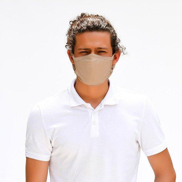 10. Her zaman kullanabileceği bir maske arayanlara bu bej maske ideal!