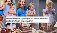 Seda Bakan Kızı Leyla'nın Doğum Gününü Gösterişten Uzak Borcamda Yaptığı Pastayla Kutlayınca Herkesin İçini Isıttı