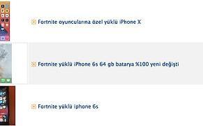 Apple Fortnite'ı AppStore'dan Kaldırınca Fortnite Yüklü iPhone'lar Binlerce Liradan Satışa Çıkmaya Başladı!