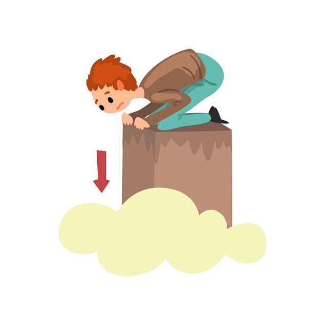 2. Akrofobi - Yüksekten korkma hastalığı