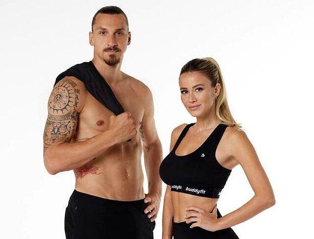 Bu olay yaratan çift, ilk kez karantina esnasında bir spor uygulamasının reklam filmini çekmek için bir araya geldiler.