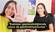 'Girl Up' Hareketini Türkiye'de Başlatarak Genç Kızların Sesi Olup Göğsümüzü Kabartan 17 Yaşındaki Gencimiz Selin Özünaldım