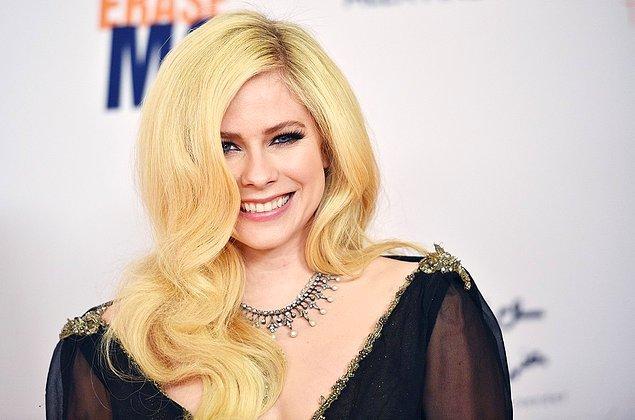 6. Avril Lavigne