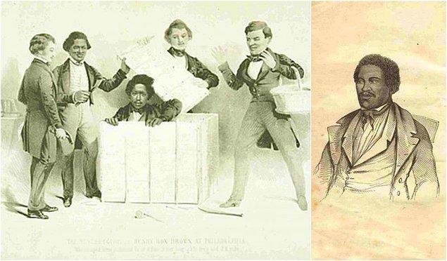 Kölelik karşıtı konuşmacılardan biri olan Brown'ın, Mayıs 1849 yılında Boston Anti-Slavery Kongresinde isminin yanında Box kelimesi eklendi ve Henry Box Brown olarak kullanmaya başladı.