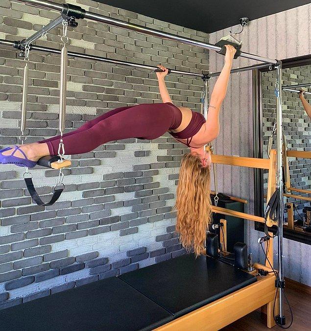 6. Reformer pilatesin belki de en güzel taraflarından biri de tüm vücudu eşit çalıştırabileceğiniz bir egzersiz olmasıdır.