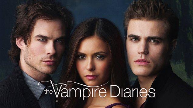 16. The Vampire Diaries