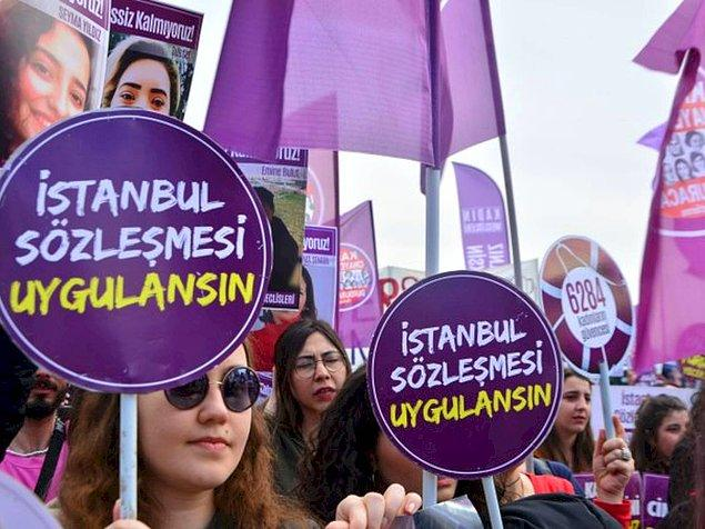 Sonra, İstanbul Sözleşmesi'nin prensipleriyle başkaca şiddet türlerini zikreder olduk.
