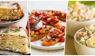 Ana Yemeği Beklerken Bir Gözümüz Doymasın Mı? Sizler İçin Harika 13 Arasıcak Tarifi