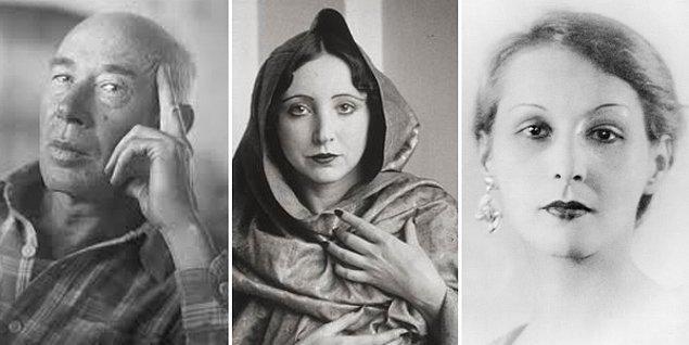 Yedi yıl sürecek ilk evliliğini 1917 yılında Beatrice Sylvas Wickens'la yaptı.