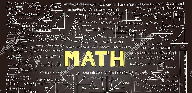 Matematik dolu bir dönüşüm hem de.