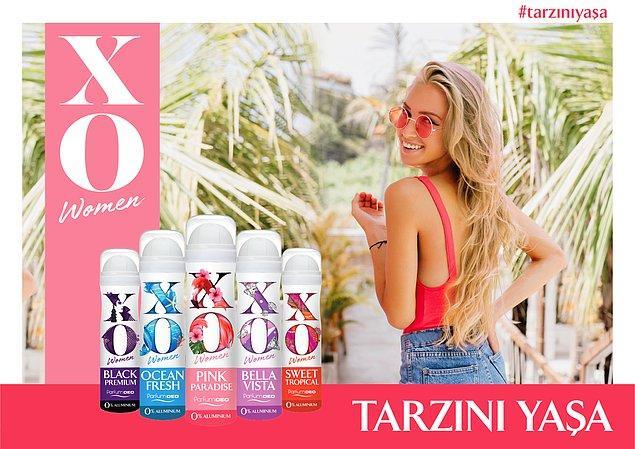 Muhteşem kokuları ve yenilenen ambalajlarıyla tarzını yansıtacak XO Parfumdeo'lar ile kokunu seç, tarzını yaşa!