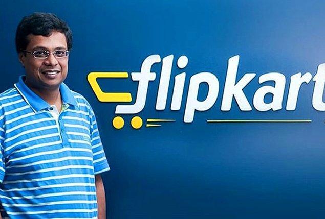 Hindistan'da bir alışveriş sitesi olan Flipkart'ın kurucu ortağı Binny Bansal, firmayı Walmart'a sattıktan sonra Singapur'un en büyük isimlerinden biri oldu.