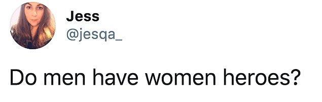 Twitter'da Jessica Brown adlı bir kullanıcı 'Beyler sizin kadın kahramanlarınız kim?' diye sordu. Biz de sizler için verilen yanıtları derledik!