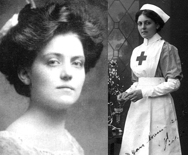 12. Yolculardan biri olan Violet Jessop, Titanik dahil üç büyük gemi kazasından sağ kurtulmayı başardı...