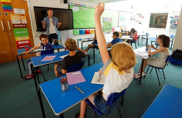 Almanya'da öğrenciler ağustos ayının başından beri tam zamanlı olarak okula dönmeye başladı.