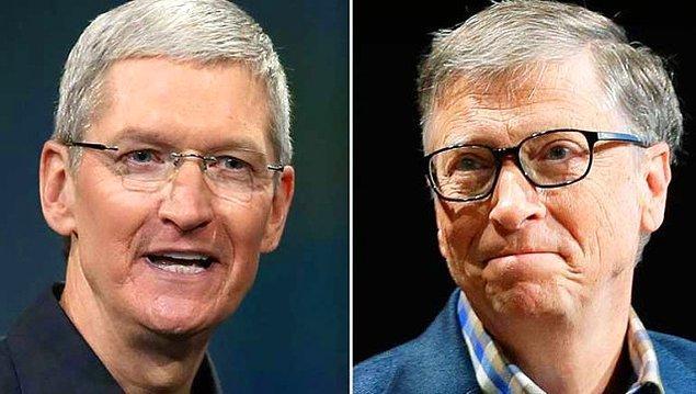 Microsoft kurucusu Bill Gates'in de milyarderler listesinde adı bulunuyor.