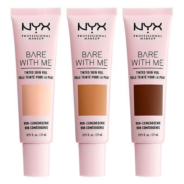 7. Her çantanın olmazsa olmazı renkli nemlendiriciler sana özel formülüyle NYX Cosmetics'te!