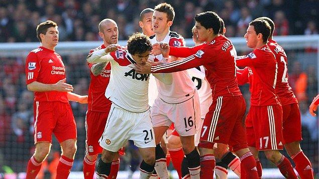 8. Manchester United vs Liverpool