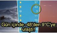 30°C Birden Düşerek Herkesi Şaşırtan Ani Hava Sıcaklığı Değişiminin Sebebini Sizler İçin Araştırdık!
