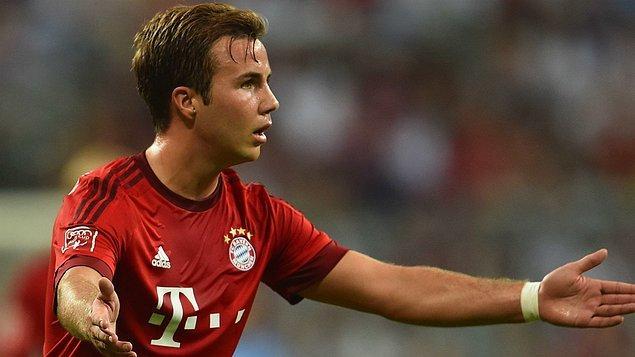 11. Mario Götze - Bayern Münih