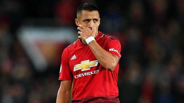 12. Alexis Sanchez - Man. United