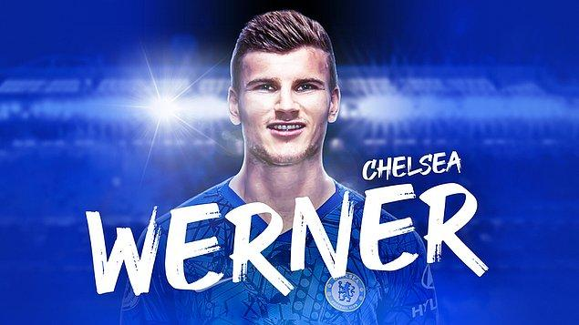 27. Timo Werner / RB Leipzig ➡️ Chelsea