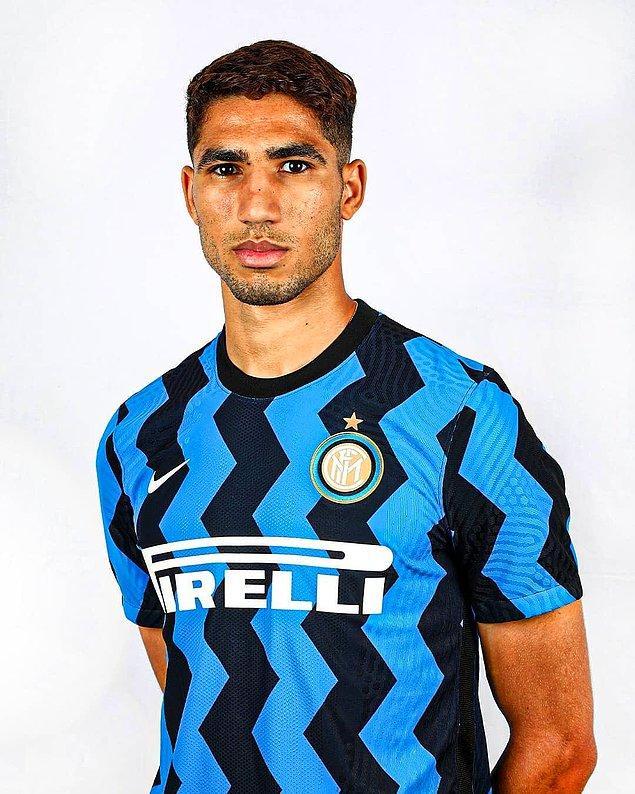 22. Achraf Hakimi / Real Madrid ➡️ Inter