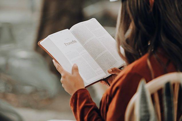 2. Okuduğunuz kitabı mutlaka bitirin.