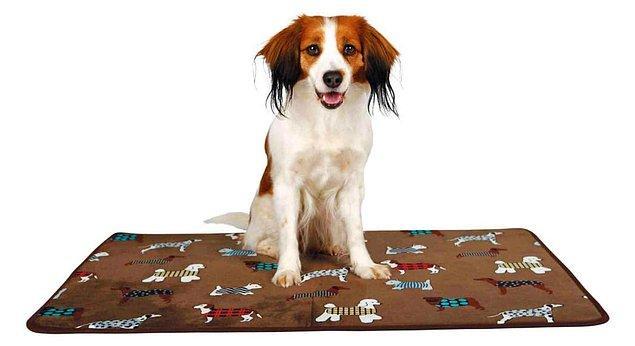 Trixie Köpek Yatağı İnce Peluş 70X50 cm Kahverengi