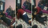 Erzurum'un Yöresel Oyunu Olduğu İddia Edilen, Erkeklerin Üst Üste Bindiği ve Göt Kırbaçlamalı İlginç Oyun