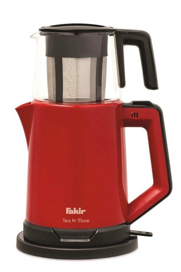 13. Fakir marka çay makinesi de 400 TL yerine 201 TL! 1 TL yüzünden %50 indirimli olamamış resmen. 😀