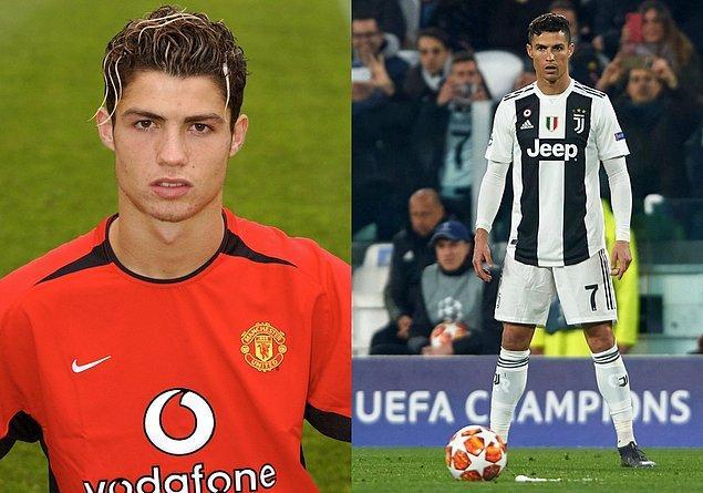 1. Cristiano Ronaldo / 19 Yaş - 35 Yaş