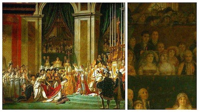 7. 'İmparator I. Napolyon'un Taç Giyme Töreni', Jacques-Louis David
