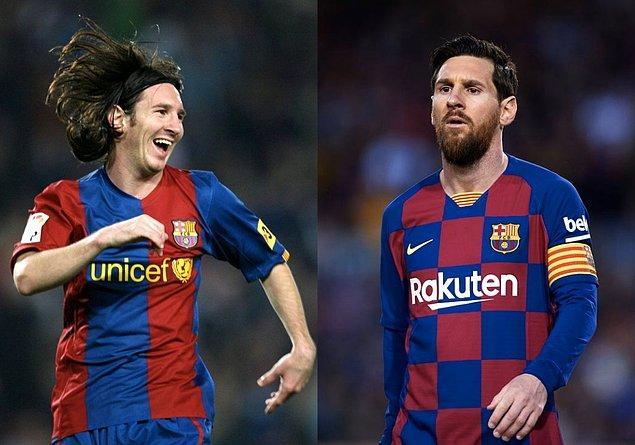 2. Lionel Messi / 19 Yaş - 33 Yaş