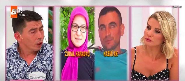 Arama çalışmaları sırasında da bir anda Zuhal'in halasının oğlu Nazmi'nin de ortadan kaybolduğunu anlamışlar ve daha sonra Zuhal'in telefon çağrıları araştırılınca en son Nazmi'yle görüştüğü ortaya çıkmış.