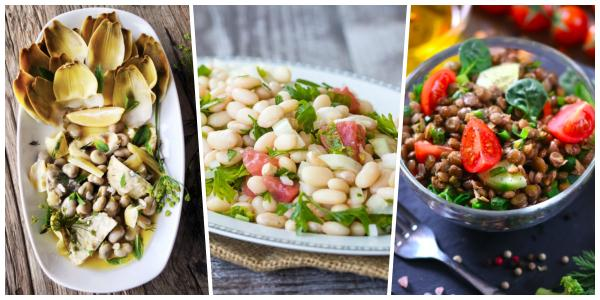Öğünler Artık Daha Doyurucu ve Daha Sağlıklı! Birbirinden Lezzetli 11 Bakliyat Salatası Tarifi